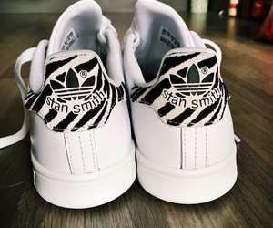 white and stan smith image