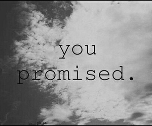 promise, you, and sky image