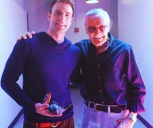 chris evans, Marvel, and stan lee image