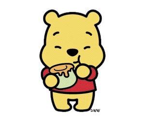 winnie the pooh and honey image