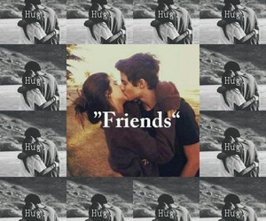 friends, couple, and friendship image