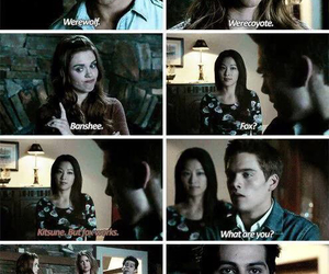 teen wolf, stiles, and kira image