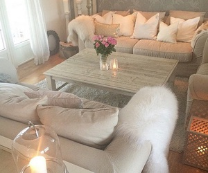 chic, comfy, and decoration image