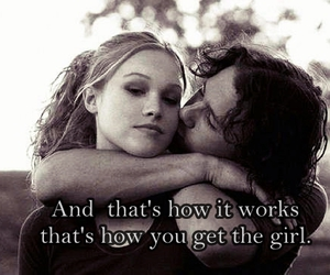 love and how you get the girl image