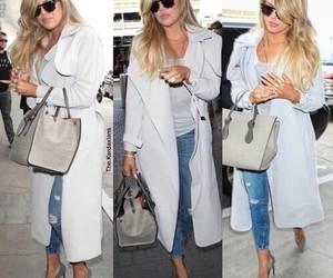 fashion, kim kardashian, and khloe kardashian image