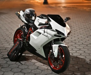 ducati, motorcycle, and white image