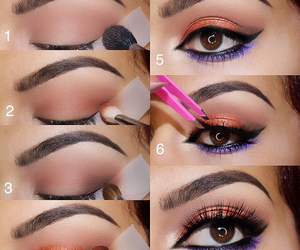 beauty, eyeliner, and how to image