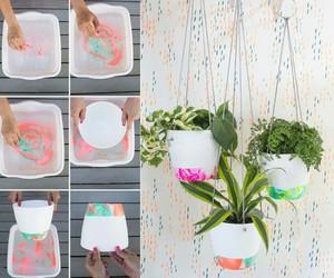 diy, flower pots, and diy flower pots image