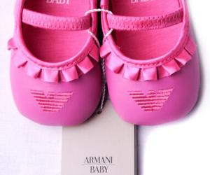 Armani, baby, and shoes image