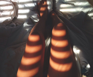 legs, bed, and summer image