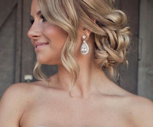 hair styles, Prom, and prom hair image