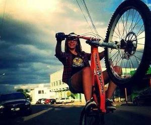 bicyle, happy, and peace image