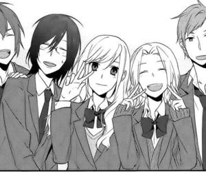 horimiya, manga, and friends image