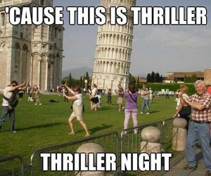 funny, Pisa, and italy image