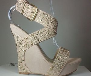 fashion, glitter, and heels image