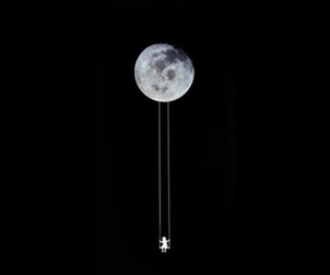 alternative, black, and moon image