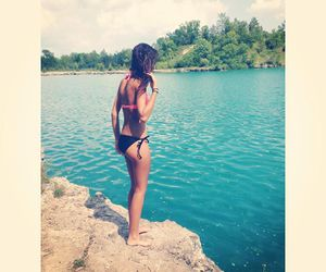 bikini, girl, and pretty image