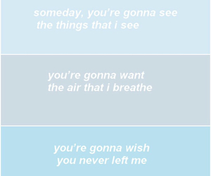 blue, quote, and clouds image