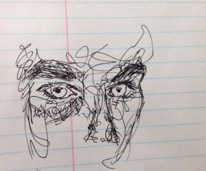 drawing, grunge, and indie image
