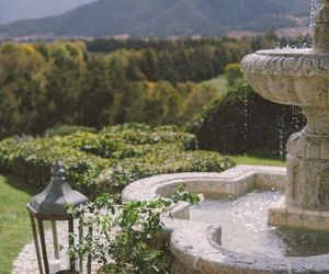 fountain, landscape, and relax image
