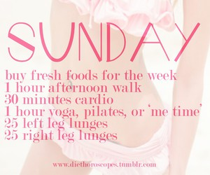 workout, fitness, and Sunday image
