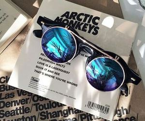 arctic monkeys, sunglasses, and music image