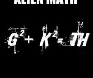 tokio hotel, alien, and math image