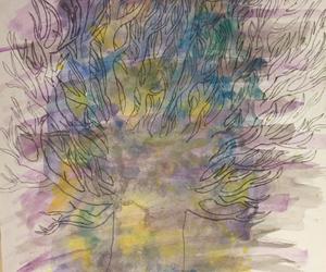 art, galaxy, and tumblr image