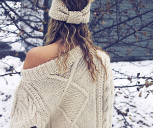 winter, fashion, and snow image