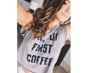 coffee, youtubers, and but first coffee image