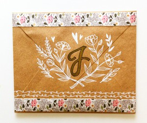 decorate, diy, and envelope image