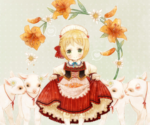girl, liechtenstein, and hetalia image