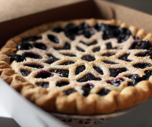 food, pie, and delicious image