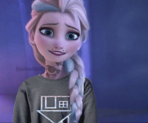 frozen, piercing, and punk image