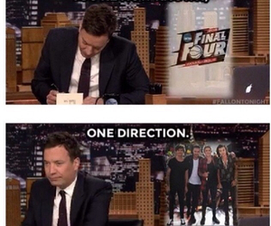 one direction and jimmy fallon image