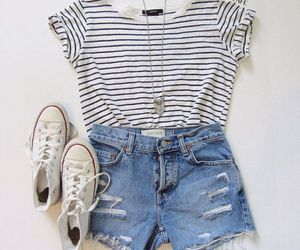 clothes, fashion, and giel image