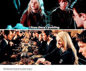 harry potter, pudding, and funny image