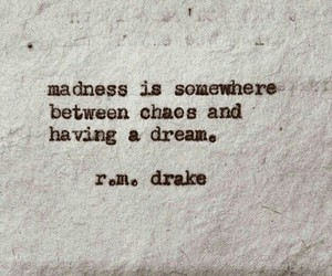 Dream, madness, and chaos image