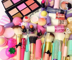 girly, cosmetics, and makeup image