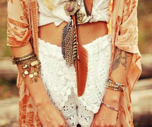 fashion, boho, and indie image