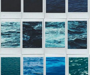 blue, grunge, and ocean image
