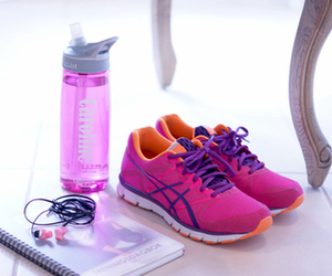 pink, fitness, and shoes image
