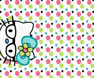 hello kitty, fondo, and HK image