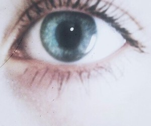 eye, pale, and blue image