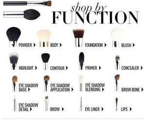 helpful, makeup brushes, and beauty advice image
