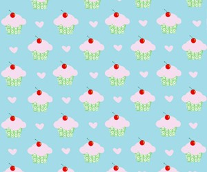 cupcake, background, and food image