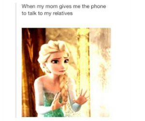 frozen and funny image