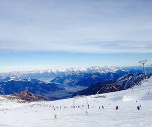 austria, blue, and mountian image