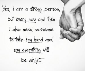strong, quotes, and alright image
