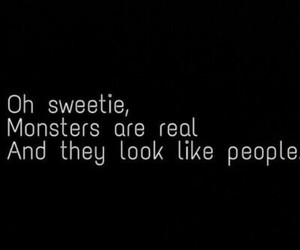 monsters, real, and people image